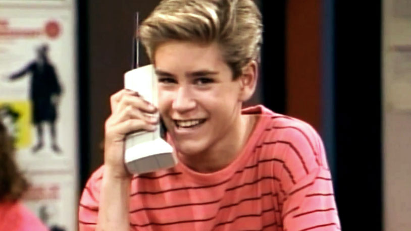 Zack Morris Cellphone
